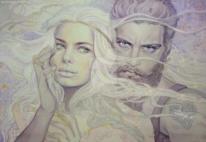 Of Aule and Yavanna by kimberly80