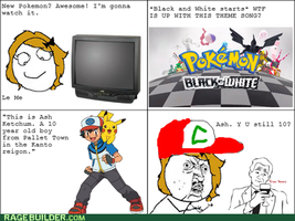 Ash is Still 10 Rage Comic by MsLunarUmbreon