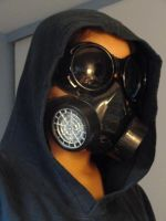 Gas Mask Bad Assery by BlueLumi