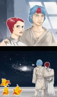 A new Hope, Aiko and Yuki by Minorou1988