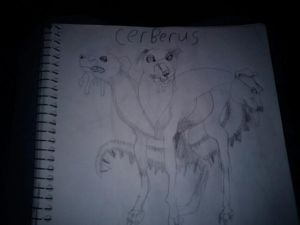 Cerberus the dog of the underworld