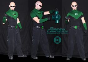 Custom Green Lantern Costume by ajb3art