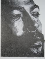 Marvin Gaye Stippling by nikosg