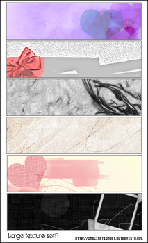 Large Texture set5 by pinkshadoww