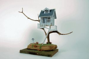 Tree House Model by kate-arthur