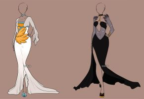 Fashion Adoptables Auction - CLOSED by Karijn-s-Basement