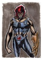 Liono-thundercats by Leadjunky