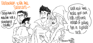 Halloween With The Salazars by bambzilla