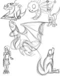 Undone sketches by Airena14