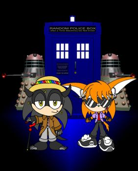 Doctor Who? by EUAN-THE-ECHIDHOG