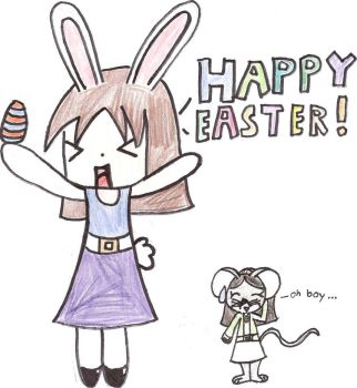 Happy Easter by taismo1235