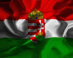 Hungarian flag by haadesm