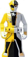 Request to pikatwig: Gokai silver and yellow Key by MegaElekid947
