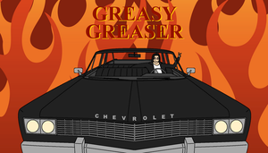 Greasy Greaser Banner - V2 by MightyDragonEmperor