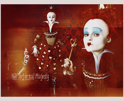 Her Infernal Majesty by ladyironia