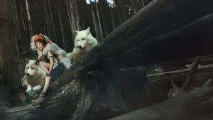Princess mononoke by angie0-0