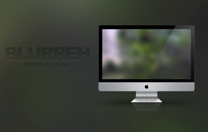 Blurreh Wallpaper by Pur3x