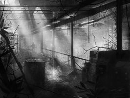 Abandoned Factory Concept by misi006