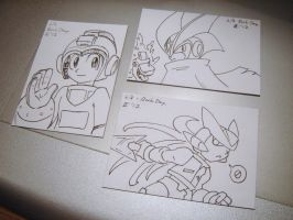Rock Day art cards by Gryphon-HB