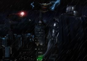 Batman v. Superman Showdown by fmirza95
