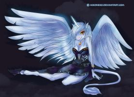 Angel of Night by aikoneko