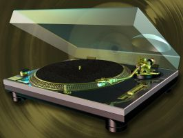 Limited Edition Technics 1210 MK2 by YesOwl