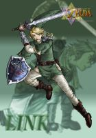 The hero Link -Ooc- by BlueWolfKunoichi
