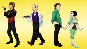 Waistcoats and Mint Chocolate by chiyokins