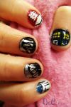 Tenth Doctor Nail Art -2 by ChainOfLight