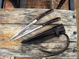 Knife and Pricker Set by HellfireForge