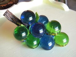 Glass Grapes 3 by Stock7000