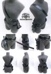 Gun Whip and Sword Holster - 3 in 1 by Alzheimer13