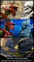 Stormers's staring contests by KrytenMarkGen-0