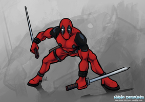 Deadpool by Therbis