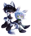 Maid and Butler by CofL-fee