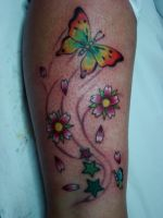 Butterfly Tattoo by GringoTattoofiel