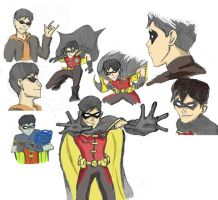 Robin Sketchdump by Padfoot-x