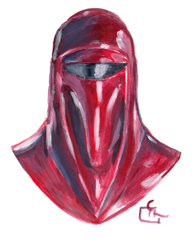 Royal Guard Portait - Quick Painting by HeroFromMars