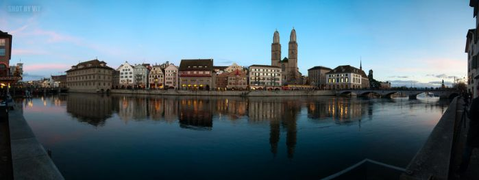 Zurich Panoramic by Piddling