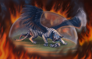 Commission - Bluesky by tigon