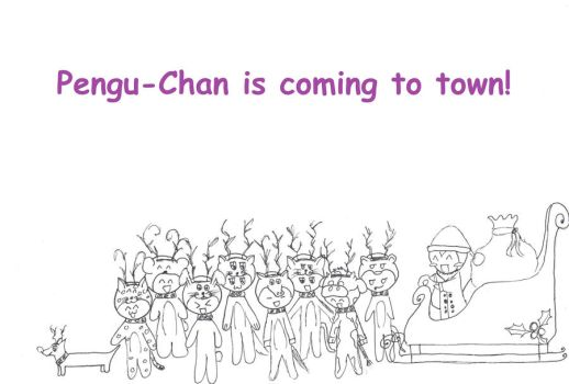 Pengu is coming to town by Rannsong