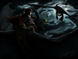 Attack from the Sky ~ HTTYD by EndoFire