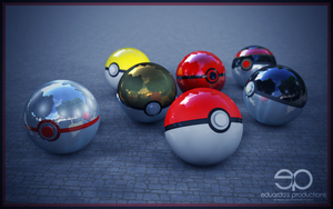 Pokebolas by eduardosproductions