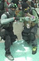 Sam Fisher and Ghost at Anime Expo AX 2013 by trivto