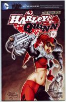 Harley Quinn #0 Sketch cover by PlanetDarkOne