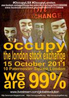 Occupy London by occupywallstreet