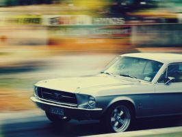 1967 Ford Mustang Wallpaper by chaotic-musician