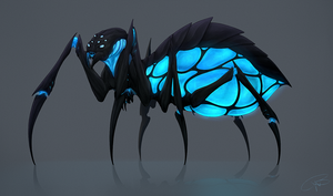 Spider - Commission for Nicholas S. Smith by CharlotteChambers