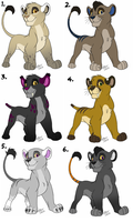 Cub adopts: -ALL SOLD- by KaiserTiger