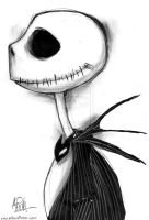 Jack Skellington by AricaTuesday